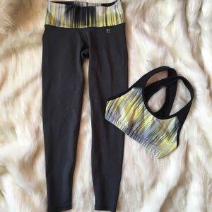 Pants - EUC Body Language Sportswear bra and leggings set